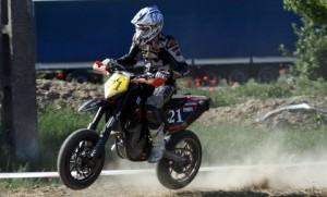 Trăistaru se menţine pe podium în Europeanul de Supermoto
