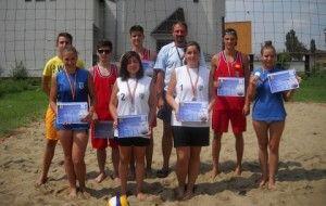Turneu de volei pe plajă, în organizarea CS Westar Arad