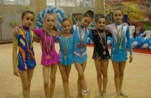 """Gimnastele CSM-ului, pe podium la """"Children Cup"""""""