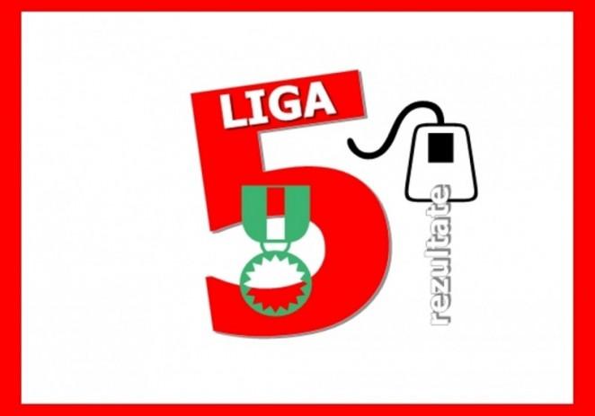 Rezultatele şi clasamentul etapei 8 din Liga 5 Arad