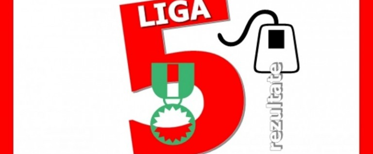 Rezultate şi clasamente, în cele două serii din Liga 5
