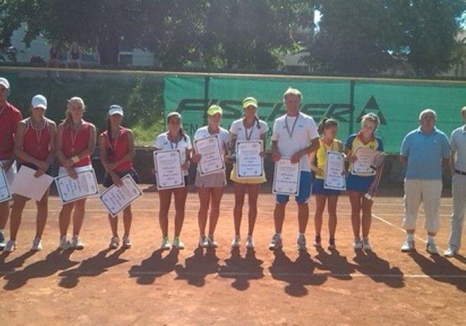 Tenismenele s-au calificat la turneul final European Summer Cup