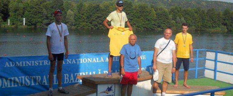 """Kaiac-canoe: campion arădean la """"naţionalele"""" de juniori"""