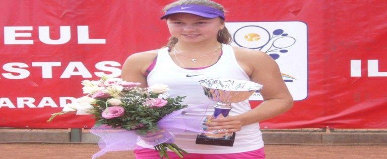 Rusoaica Komardina a câştigat turneul ITF de la Arad!