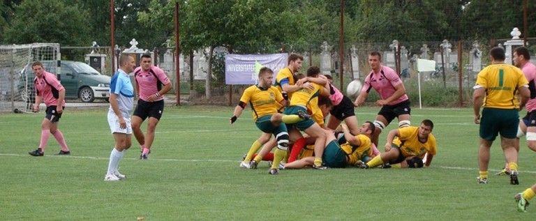 Rugbiștii de la CSU Arad debutează pe teren propriu