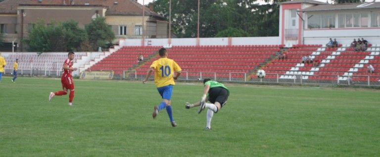 UTA e numai una: alb-roşii au făcut spectacol în primul amical, 11-0 cu Banatul Sânicolau Mic!