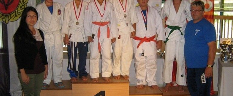 Micii judoka s-au remarcat pe tatami