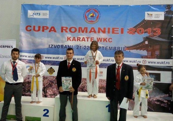 Karatiştii de la Tiger au urcat pe podium la Cupa României
