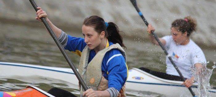 Kaiacista Clara Borda a urcat pe podium la Cupa României