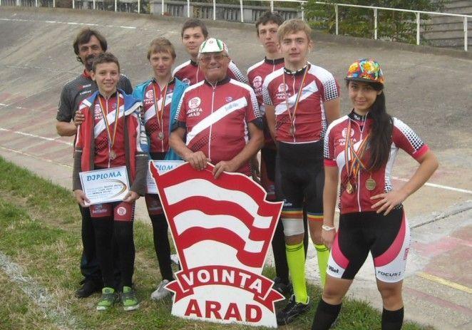 Voinţa a cucerit medalii naţionale pe velodrom