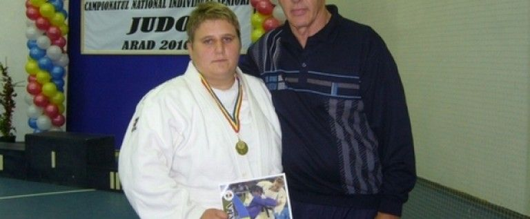 Judoka arădeni au urcat pe podium la Cupa României