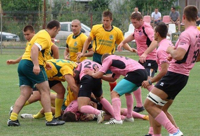 Înfrângere pentru rugbiștii de la CSU ARAD în primul meci din Cupa României
