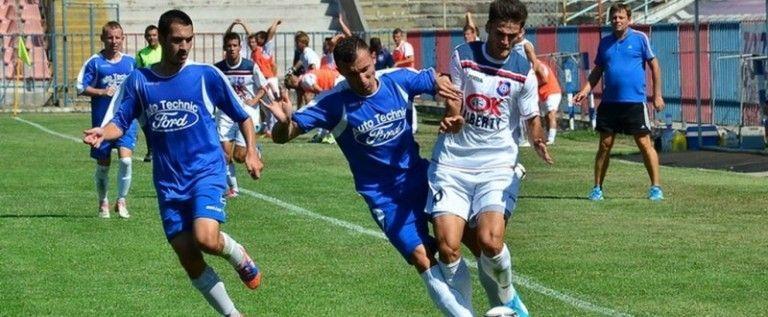 Sebişul s-a impus cu 4-2 în amicalul de la Giarmata