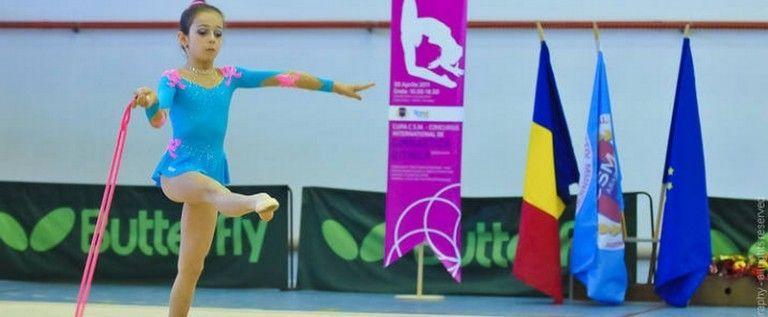 Gimnastele CSM-ului vor să se remarce pe covorul ritmicii