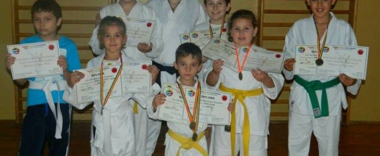 Bushido Vladimirescu achiziţionează medalii la Giroc