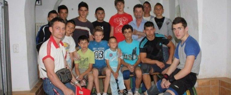 Participare internaţională la Cupa CSM Arad la haltere