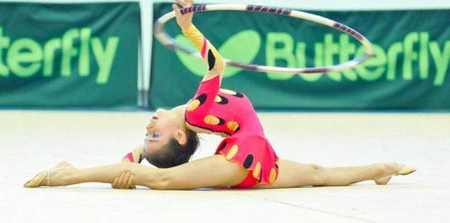 Gimnastele arădene s-au remarcat la Cupa Rotary