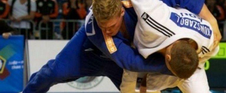 Luca Kunszabo e medaliat european pe tatami
