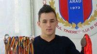 Florin Vizitiu este triplu medaliat european de juniori!