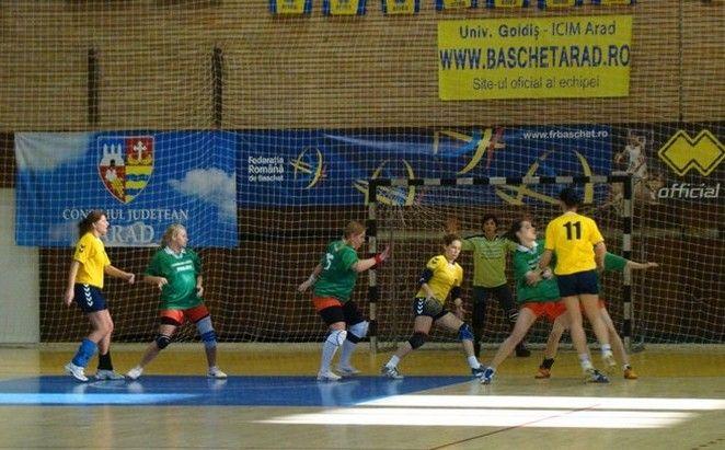 Handbalistele arădene pregătesc debutul în liga secundă