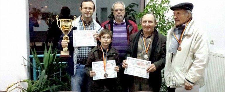 Campionatul judeţean de şah şi-a desemnat câştigătorii