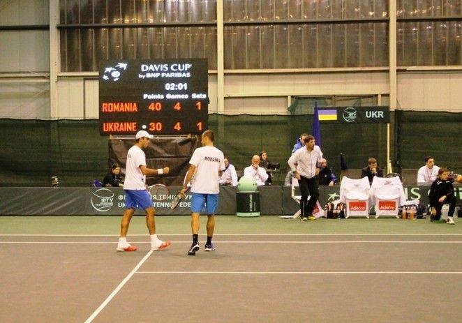 Copil şi Tecău au relansat disputa de Cupa Davis: Ucraina conduce România cu 2-1