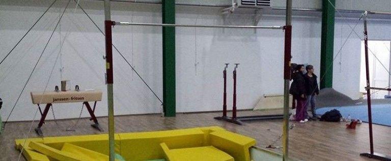 Noua sală de gimnastică prinde contur
