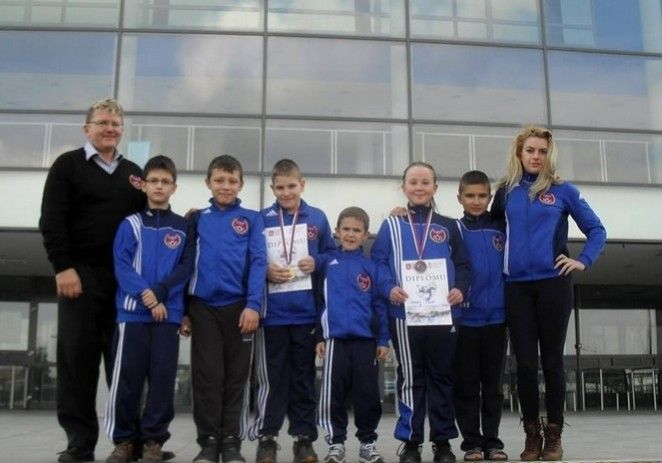 Micii judoka s-au remarcat în Serbia