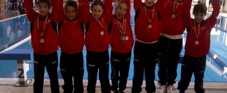 Înotătorii CSM-ului s-au întors cu medalii de la Satu Mare