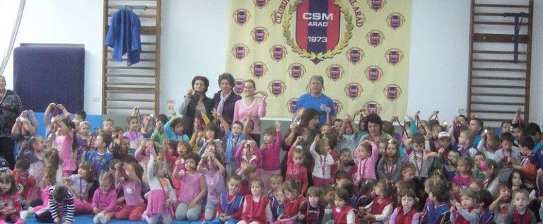 Copiii de la Grădiniţa Prieteniei PP 16 s-au jucat de-a judo