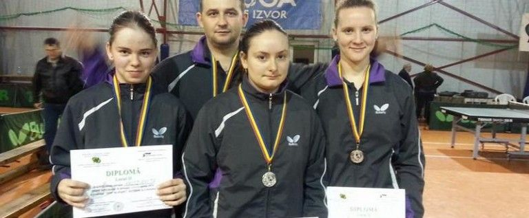 Junioarele de la CSM Arad au cucerit argintul la Campionatele Naţionale