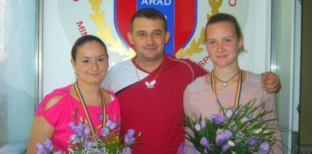Arădencele au cuceritul aurul la Openul Poloniei de tenis de masă