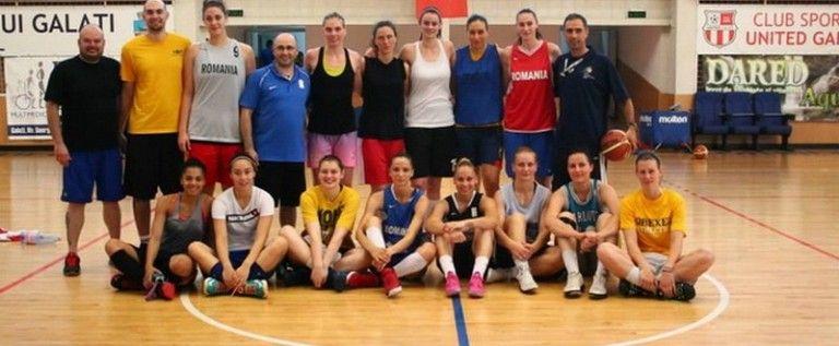 Naţionala feminină de baschet se pregăteşte de astăzi la Arad