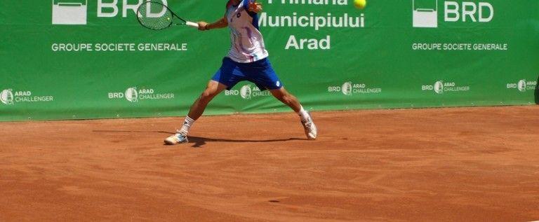 Bosniacul Damir Dzumhur a câştigat BRD Arad Challenger