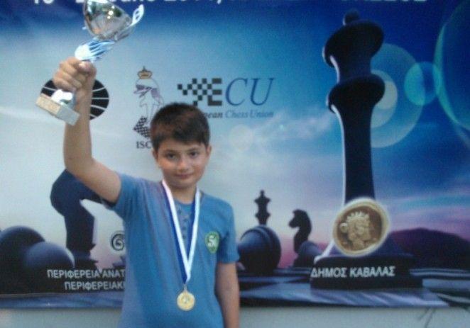 BOGDAN DAVID – CAMPION MONDIAL DE ȘAH ȘCOLAR  LA BLITZ