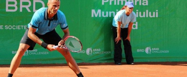 Marius Copil a fost eliminat în primul tur la BRD Arad Challenger