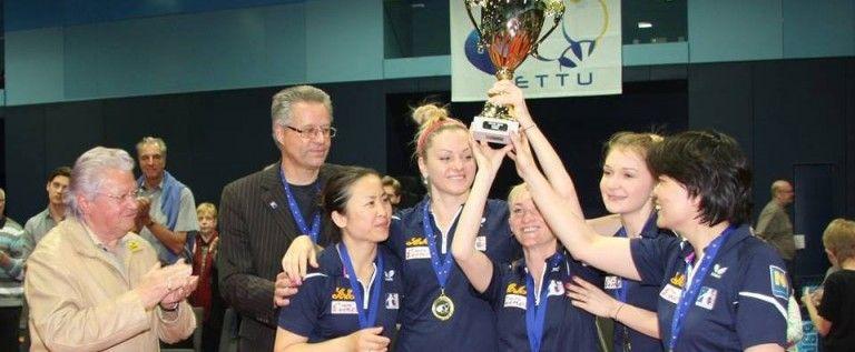 Echipa Danielei Dodean a cucerit ETTU Cup