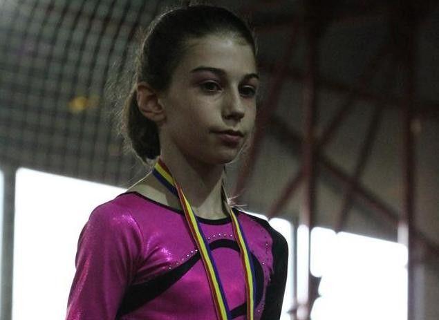 Aradeanca Iulia Berar a cucerit argintul la nationale