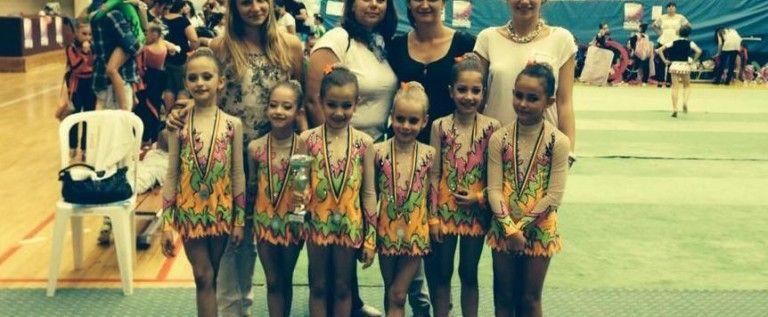 Micile gimnaste au cucerit medalii pe covorul Naţionalelor