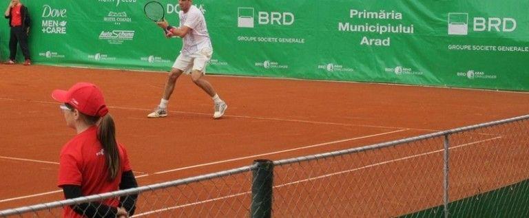 Marţi se joacă primele meciuri din turul 1 la BRD Arad Challenger