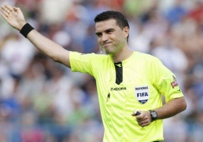 Ovidiu Haţegan nu mai poate arbitra în Champions League