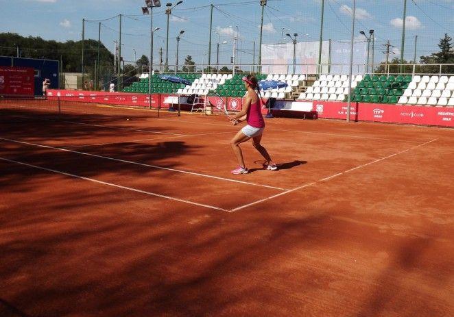 Arădencele au părăsit turneul ITF de la Arad