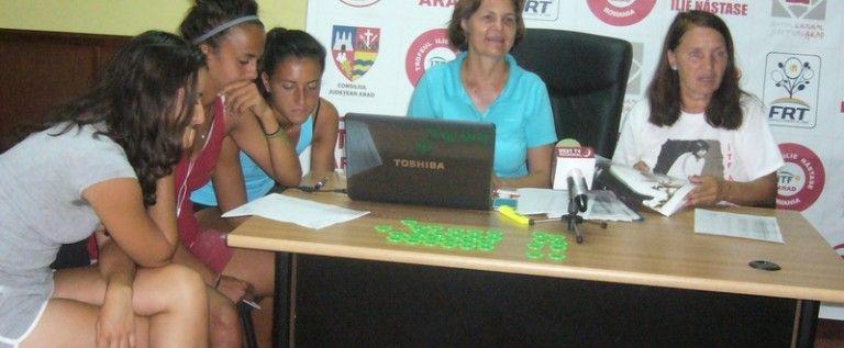 S-a tras la sorţi tabloul principal la turneul ITF Arad