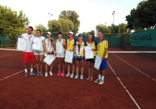 Campioanele de la Roland Garros au jucat la Arad
