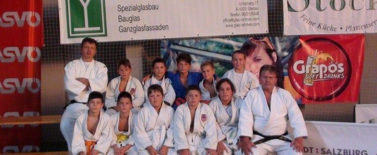 Micii judoka arădeni s-au remarcat pe tatami, în Austria