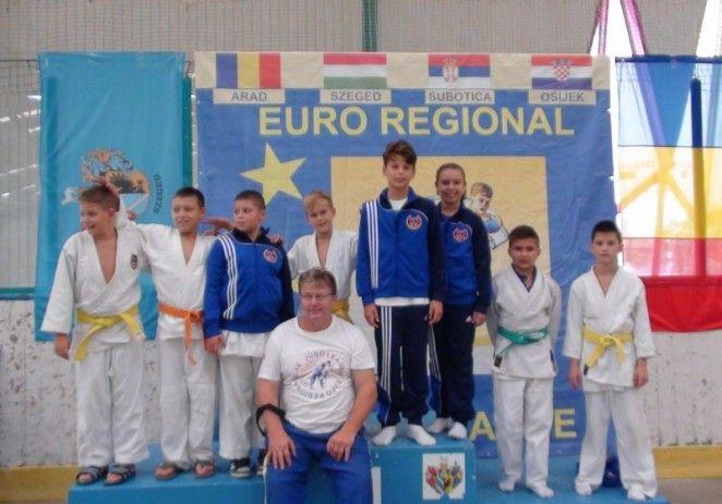 Micii judoka au urcat pe podium la Szeged