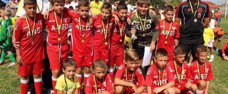 Viitorul Arad a furnizat surpriza la Cupa Cotta