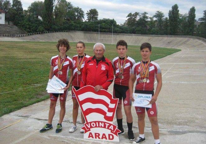 Cicliştii de la Voinţa au cucerit noi medalii