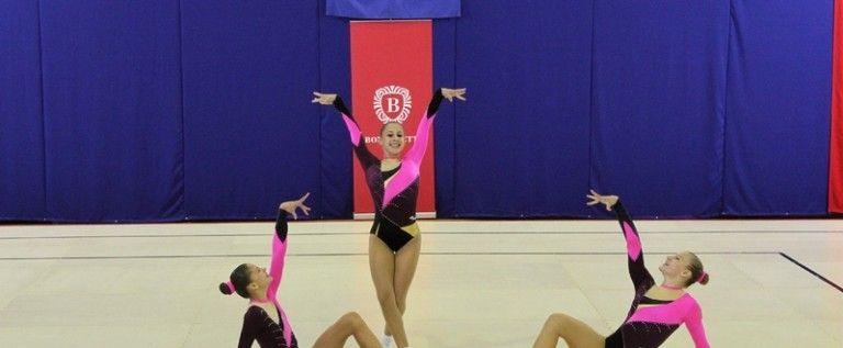 Performanţe arădene la concursul de aerobic de la Budapesta