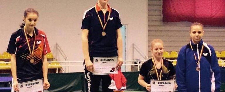 CSM Arad a cucerit patru medalii naţionale la tineret